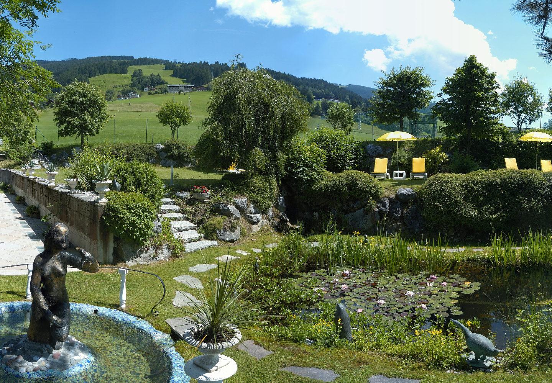Sommerurlaub Saalbach - Hotel Bauer Saalbach